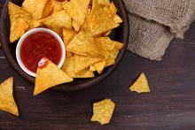 Nachos Chips. Delicious Salty ...
