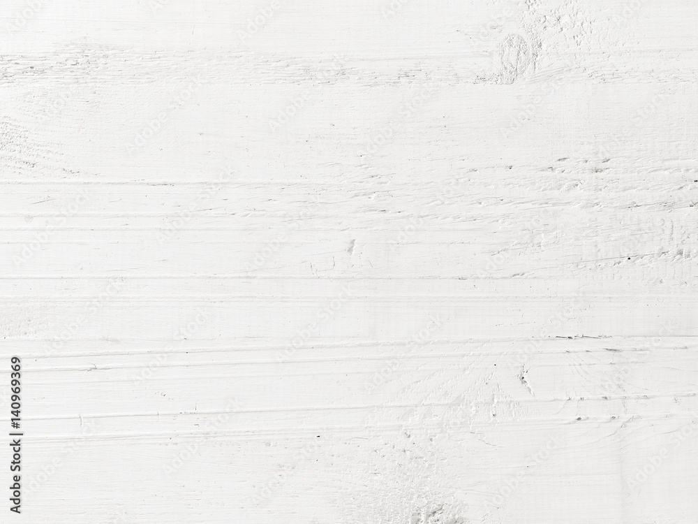 Fototapeta white wooden background