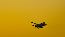 Airplane Flying In The Sky Spr...