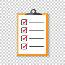 To Do List Icon. Checklist, Ta...