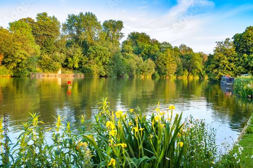 Fotografie, Obraz  Thames River. Oxford, England