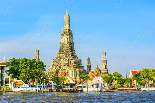 Cadres-photo bureau Bangkok Wat Arun in Bangkok or Temple of the Down