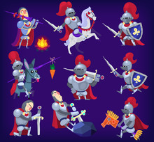 Set Of Noble Knights