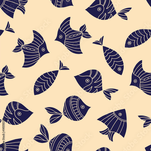 seamless-pattern-with-fish-vector-illustration