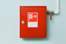 Fire Hose Cabinet With Hydrant...