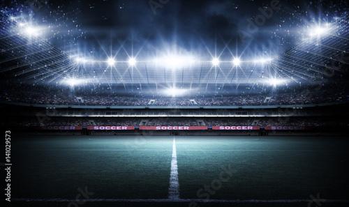 Fotografie, Obraz  Stadium, 3d rendering