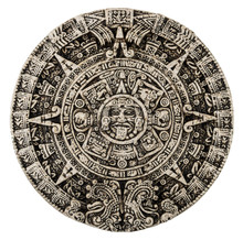 The Mayan Calendar Isolated On...
