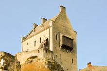 Ruins Of The Castle Of Laroche...