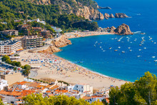 Tossa De Mar. The Coastline Of...