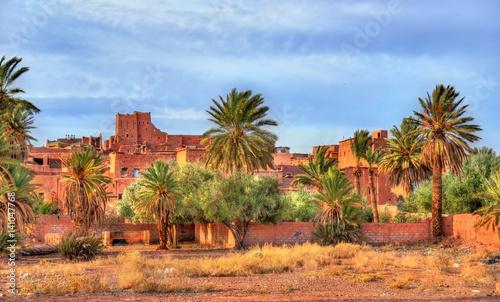 Papiers peints Maroc Palm grove at Ouarzazate, Morocco