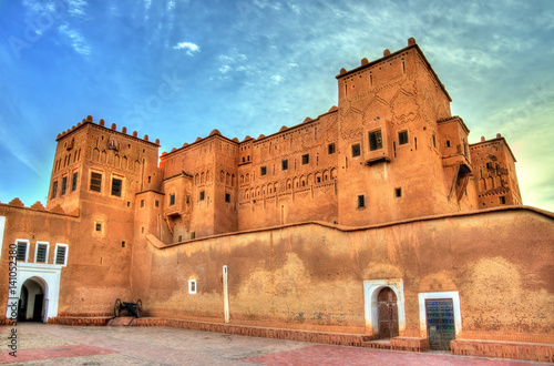 Staande foto Afrika Taourirt Kasbah in Ouarzazate, Morocco
