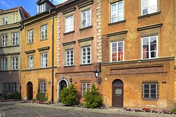Fototapeta na wymiar Old Town of Warsaw, Poland, Europe