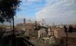 veduta del Foro Romano e monumenti di Roma
