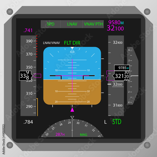 Photo Flight Instrument