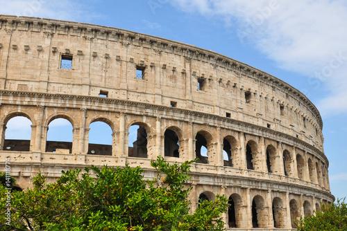 Foto op Aluminium Oude gebouw Colosseum