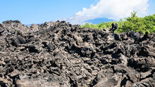 Petrified Lava Flow After Volc...