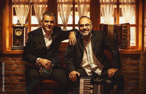 Vászonkép  Portraits of Two Musicians