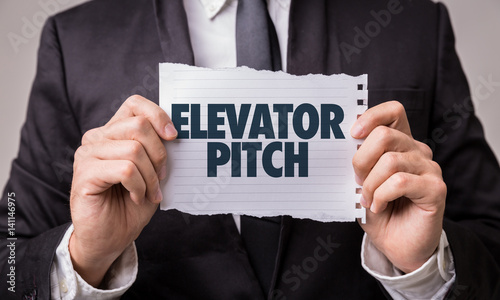 Fotografie, Obraz  Elevator Pitch