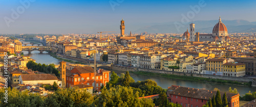 Photo sur Aluminium Florence Florence panorama city skyline, Florence, Italy