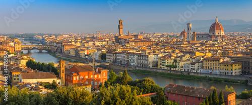 Photo sur Toile Florence Florence panorama city skyline, Florence, Italy