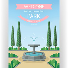 Welcome To Park Poster Templat...