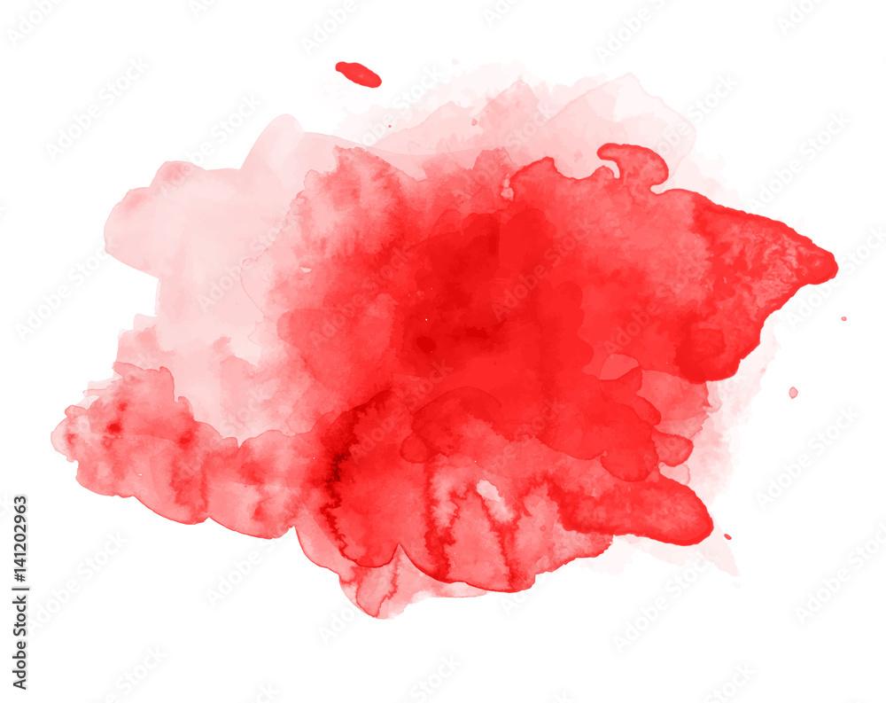 Fototapety, obrazy: Beautiful splash of watercolor vector