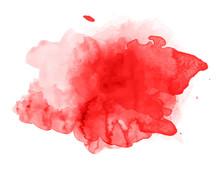 Beautiful Splash Of Watercolor Vector