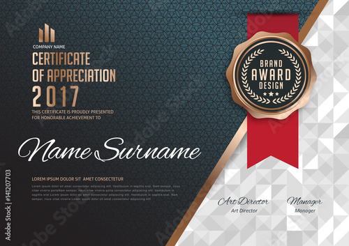 Certificate template with luxury patterndiplomavector certificate template with luxury patterndiplomavector illustration yelopaper Choice Image