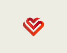 Heart Vector Symbol. Valentine...