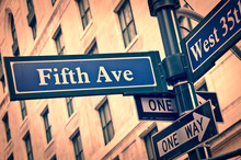 New York Fifth Avenue Street S...