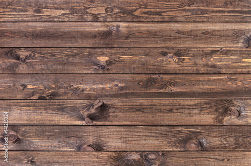 Cadres-photo bureau Bois Dark wood planks background