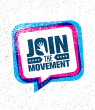 Join The Movement Motivation S...