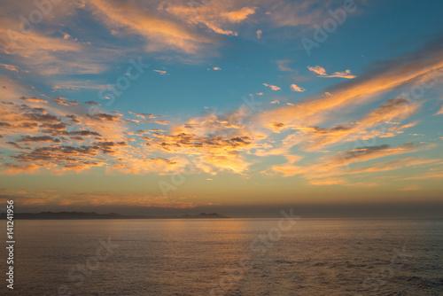 Photo  Sunrise over Baja