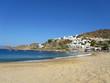 Mylopotas beach in Ios island, Greece