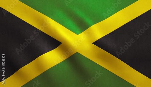 Jamaica Flag Wallpaper Mural
