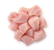 Top View Of Raw Chicken Fillet...