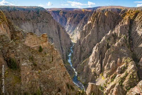 Fotoposter Canyon Gunnison Black Canyon, Colorado