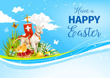 Easter Paschal Passover Lamb V...