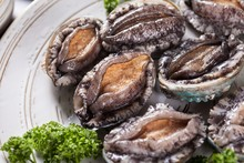 Grilled Abalones