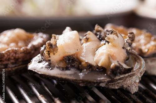 Photo Grilled Abalones