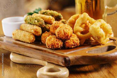 Fototapeta appetizer in the bar obraz