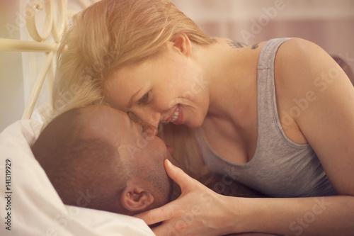 Plakat Kochająca para