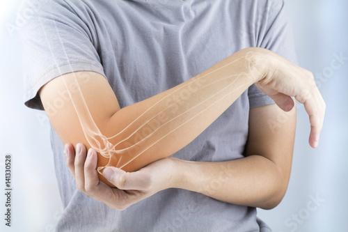 Fotografía  elbow bones injury
