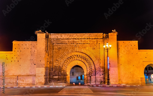 Bab Agnaou, one of the nineteen gates of Marrakesh, Morocco