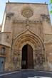 Puerta de Los Apóstoles de la catedral de Murcia