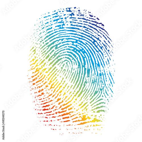 Fotografering  Fingerprint