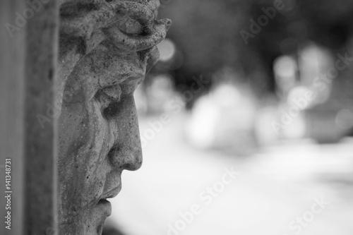Jesus Christ statue (fragment) Fototapeta