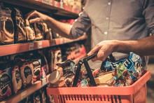 Man At The Supermarket
