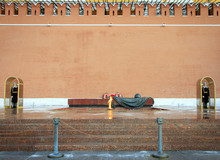 Eternal Flame At The Tomb