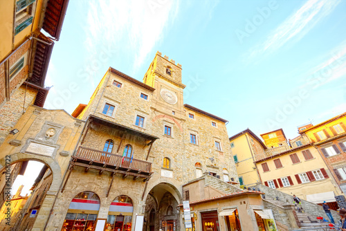 Photo Hall of Cortona, Arezzo, Tuscany